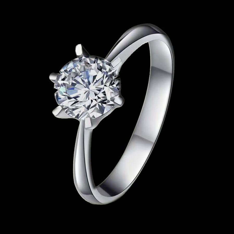 jewelry art inspired diamond platinum ring market deco home vintage product street diamonds engagement er