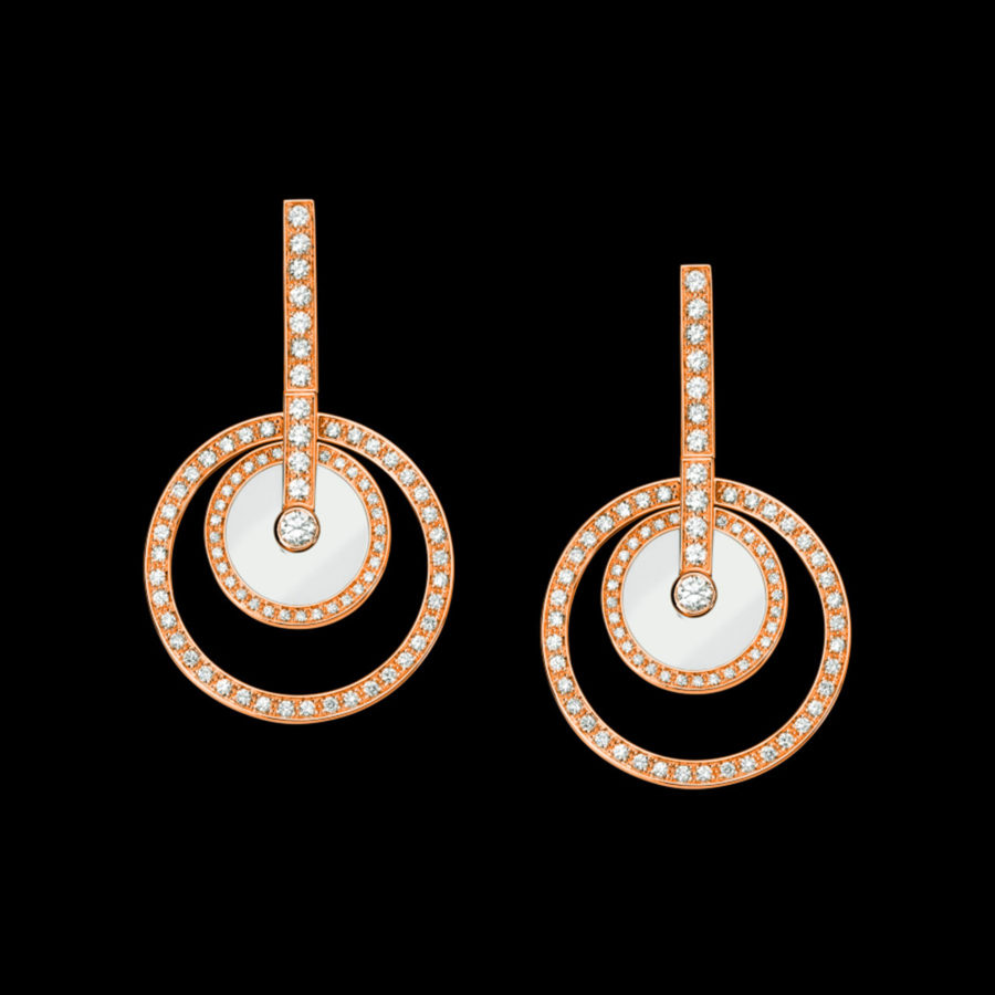 Rose Gold Diamond Rarrings