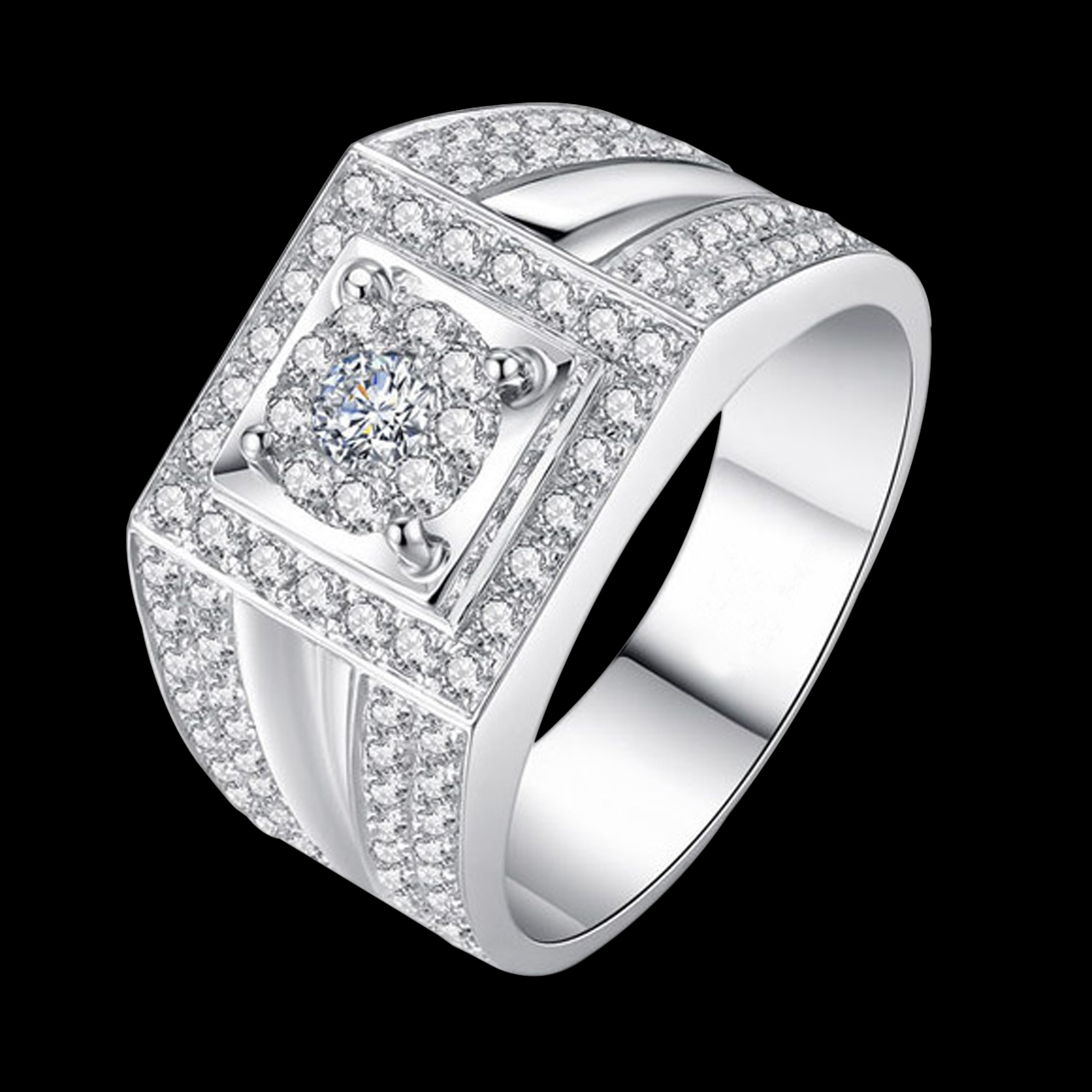 colour platinum ring diamond fancy jewellery